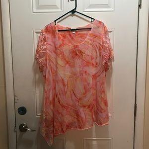 Avenue plus size blouse